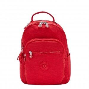 Kipling Seoul Rugzak S red rouge backpack