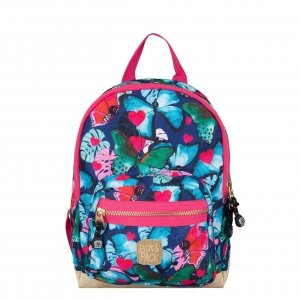 Pick & Pack Beautiful Butterfly Backpack S navy Kindertas