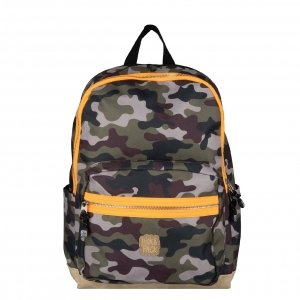 Pick & Pack Camo Backpack M camo green Laptoprugzak