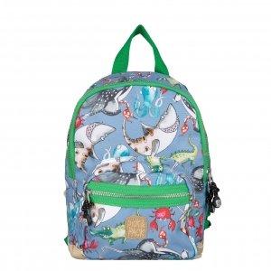 Pick & Pack Mix Animal Backpack S cloud grey Kindertas