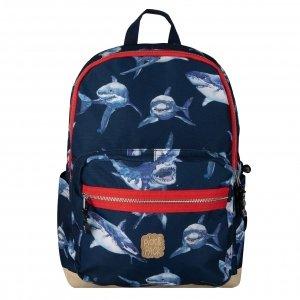Pick & Pack Shark Backpack L navy Kindertas