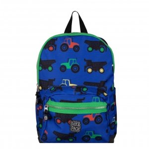 Pick & Pack Tractor Backpack M blue Laptoprugzak