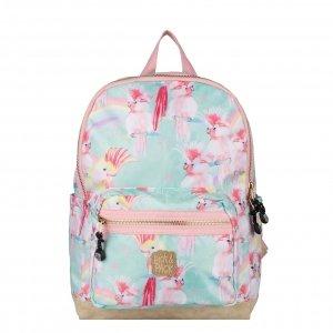 Pick & Pack Unicorn Birds Backpack M soft green Laptoprugzak