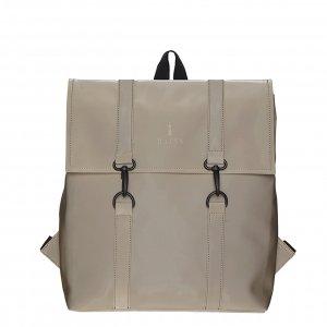 Rains MSN Bag Mini velvet taupe backpack