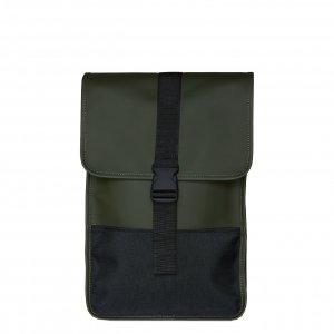 Rains Original Buckle Backpack Mini green backpack