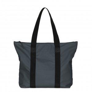 Rains Original Tote Bag Rush slate Damestas