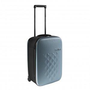 Rollink Flex Vega Opvouwbare Handbagage koffer aron blue Harde Koffer