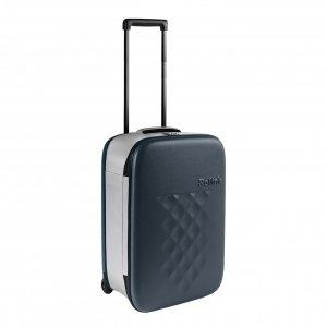 Rollink Flex Vega Opvouwbare Handbagage koffer atlantic blue Harde Koffer