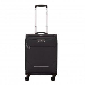 Roncato Joy Cabin Trolley 55/20 black Zachte koffer