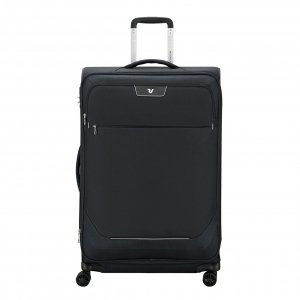 Roncato Joy Large Trolley 75 Expandable black Zachte koffer