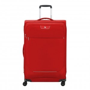 Roncato Joy Large Trolley 75 Expandable red Zachte koffer