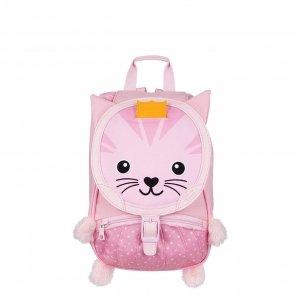 Tann's De Zoo Kinderrugzak Kat roze