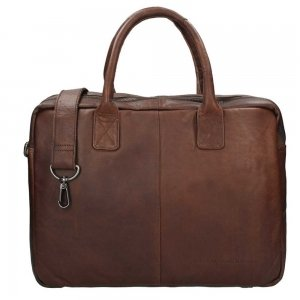 """The Chesterfield Brand Casual Briefcase 15.6"""" brown"""