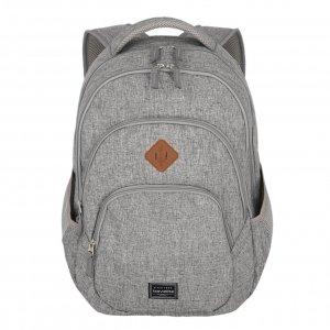 Travelite Basics Backpack Melange light grey backpack