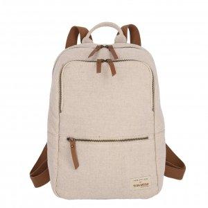 Travelite Hempline Backpack L beige Rugzak