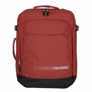 Travelite Kick Off Cabin Size Duffle/Backpack red Weekendtas