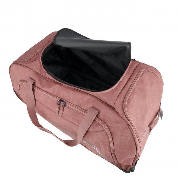 Travelite Kick Off Wheeled Duffle rose Handbagage koffer Trolley van Polyester