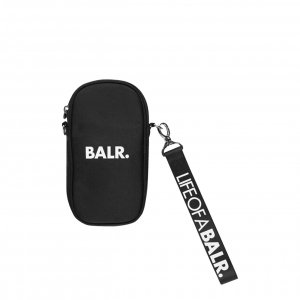 Balr. U-Series Small Phone Pouch jet black