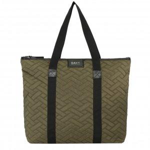 Day Et Gweneth RE-Q Tiles Schoulder Bag dark olive