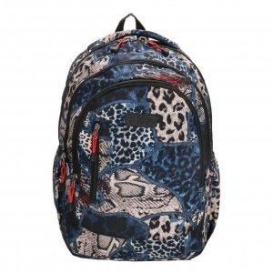 Enrico Benetti Capetown Rugtas 15'' dierenprint backpack