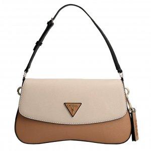 Guess Cordelia Flap Shoulder Bag natural multi Damestas