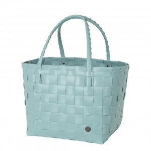 Handed By Paris Shopper dusty turquoise Damestas