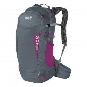 Jack Wolfskin Crosstrail 22 ST Hiking Pack storm gren backpack