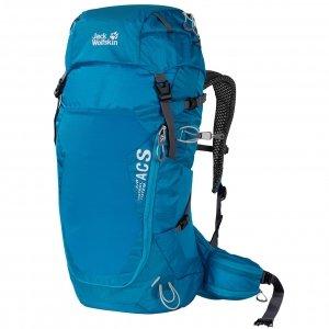 Jack Wolfskin Crosstrail 30 ST Hiking Pack blue jewel backpack