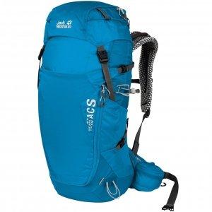 Jack Wolfskin Crosstrail 32 LT Hiking Pack blue jewel backpack