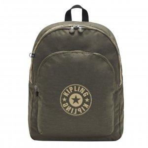 Kipling Curtis L Cen Backpack green moss pop