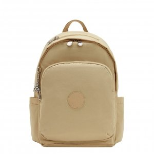 Kipling Delia Rugzak cool beige be backpack