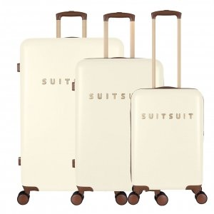 SUITSUIT Fab Seventies Kofferset 3-delig antique white II