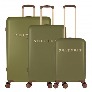 SUITSUIT Fab Seventies Kofferset 3-delig martini olive