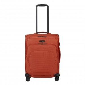 Samsonite Spark SNG Eco Spinner 55/40 maple orange Zachte koffer