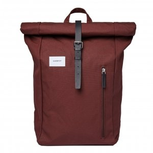 Sandqvist Dante Backpack bronze with natural leather backpack