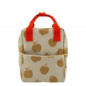 Sticky Lemon Special Edition Apples Backpack Small pool green leaf green apple red backpack