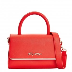Tommy Hilfiger Women Modern Bar Bag daring scarlet Damestas