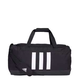 Adidas Training 3-Stripes Duffle M black/white Weekendtas