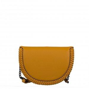 Bulaggi Anemoon Half Moon Bag dark yellow Damestas
