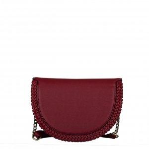 Bulaggi Anemoon Half Moon Bag red Damestas