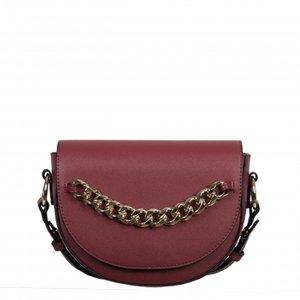 Bulaggi Chainy Half Moon Bag burgundy Damestas