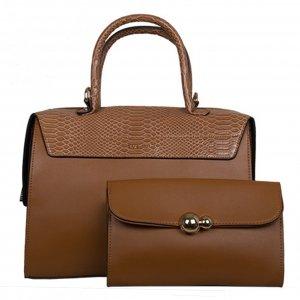 Bulaggi Sophie Set Handbag + Clutch camel Damestas