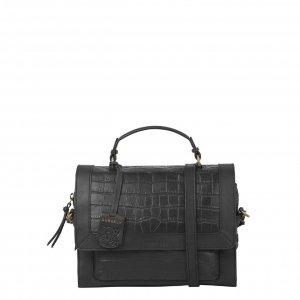 Burkely Croco Cassy Citybag black