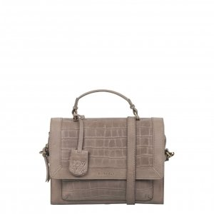 Burkely Croco Cassy Citybag pebble taupe