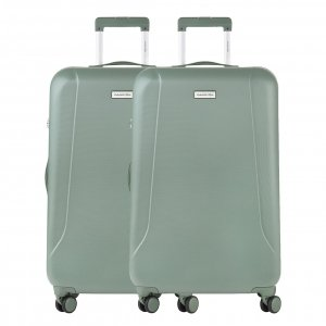 CarryOn Skyhopper 78 Set van 2 olive Harde Koffer