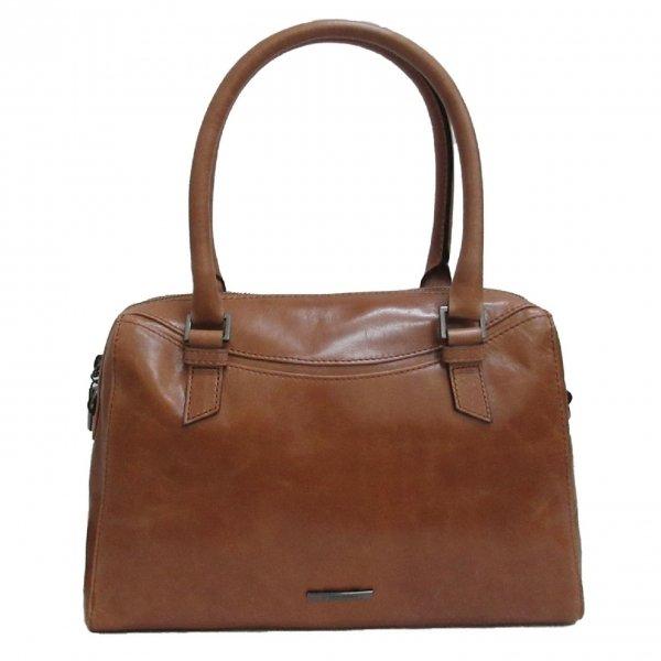 Claudio Ferrici Pelle Vecchia Handbag cognac II Damestas