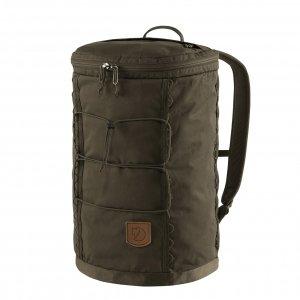 Fjallraven Singi 20 dark olive backpack