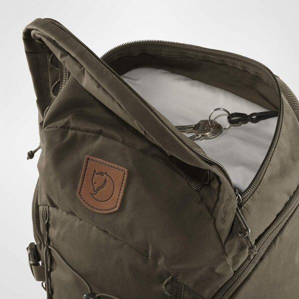 Fjallraven Singi 28 stone grey backpack van Polyester