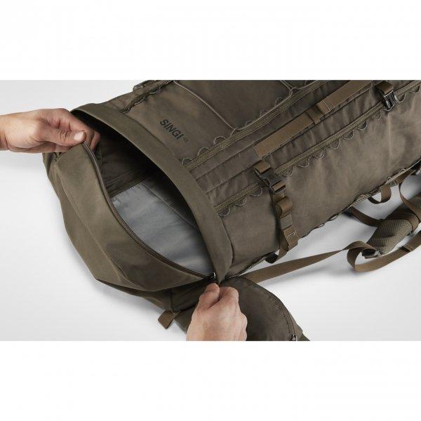 Fjallraven Singi 48 stone grey backpack van Polyester