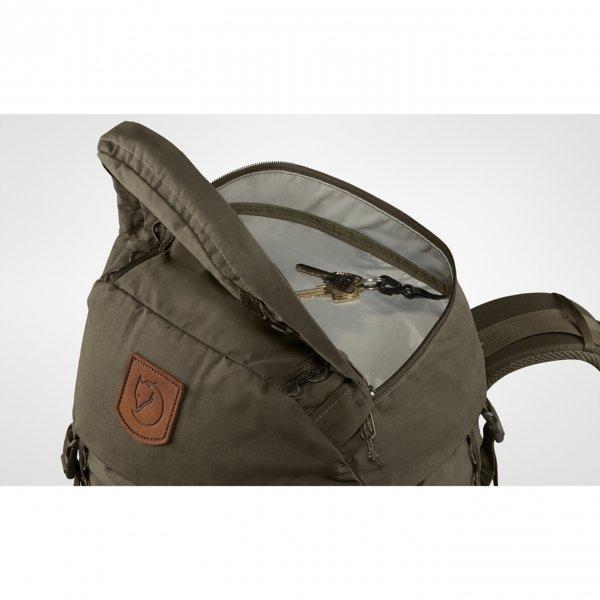 Fjallraven Singi 48 stone grey backpack